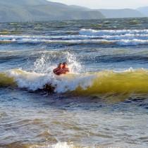 Усть-Баргузин пляж - В волнах Байкала