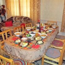 Гостевой дом в Усть-Баргузине Гостиная - Столовая
