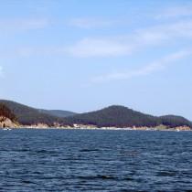 Байкал - Чивыркуйский залив. Полуостров Святой Нос. п. Катунь