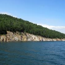 Байкал - Чивыркуйский залив. Берег мыса Курбулик