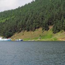 Байкал - Бухта Змеиная. Причал у горячих сероводородных источников