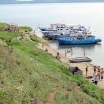 Байкал - Чивыркуйский залив - Бухта Змеёвая. Горячие сероводородные источники