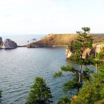 Шаман-скала на Ольхоне