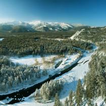 Курорт Умхей зимой